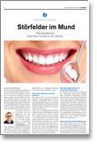 Artikel Störfelder im Mund im Schleswig-Holstein Journal